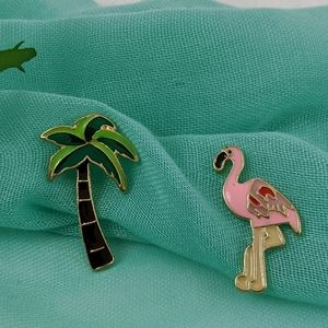 Jewelry - Set of Tropical Pins